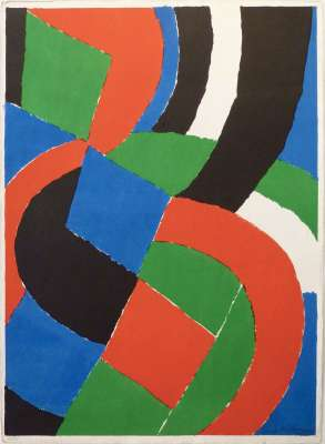 Sans titre (Farblithographie) - Sonia DELAUNAY-TERK