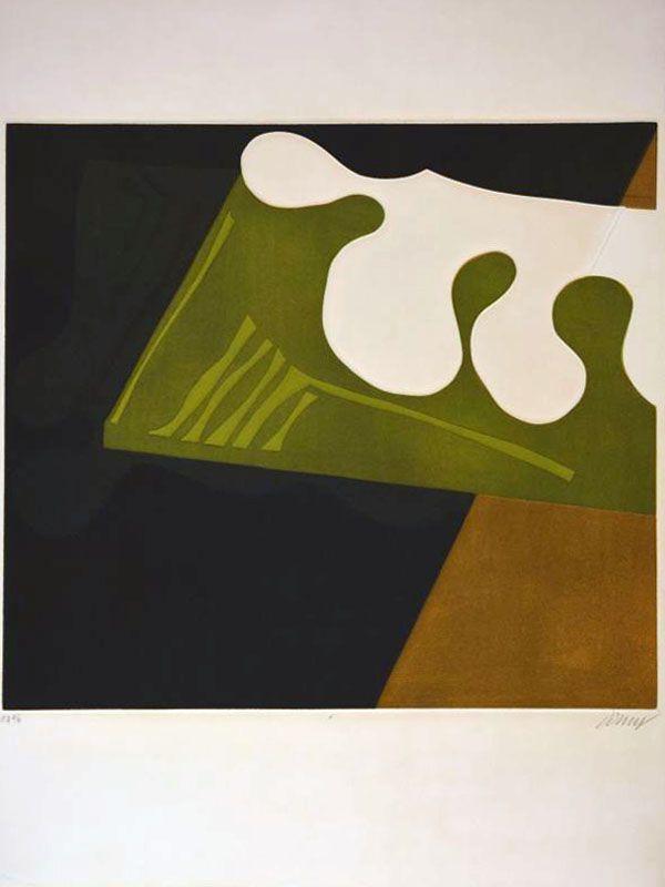 Suite des architectures non répertoriées (Gravure A) (Aquatinte) - Bertrand DORNY