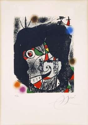 Les révolutions scéniques du XXe siècle I (Lithographie) - Joan  MIRO
