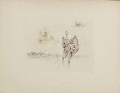 La Chauve-souris (Gravure) - Hans BELLMER