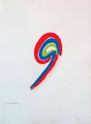 LES ILLUMINATIONS d'Arthur RIMBAUD (Pochoir) - Sonia DELAUNAY-TERK