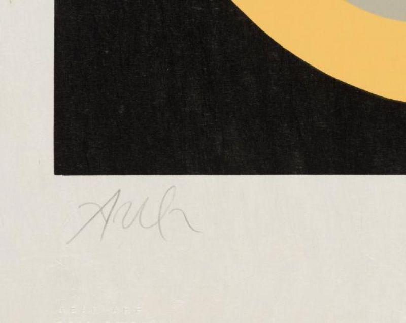 Soleil Recerclé (Bois gravé) - Hans ARP