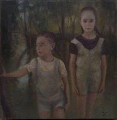Tarde verde (Huile sur toile) - Dolores  CAPDEVILA