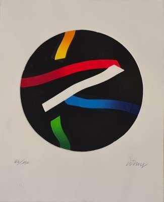 N°585 (Aquatinte et carborundum) - Bertrand DORNY