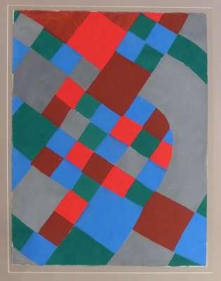 Poésie des mots, Poésie des couleurs (Stencil) - Sonia DELAUNAY-TERK