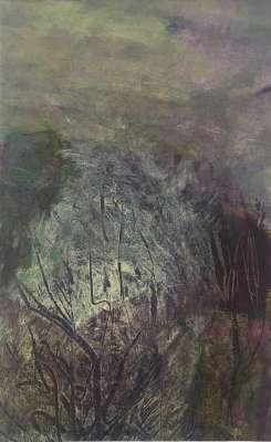 """Arbre"" (Acrylique) - Gilles MAUPUR"