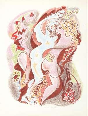 Sans titre (Drawing (modern)) - André  MASSON