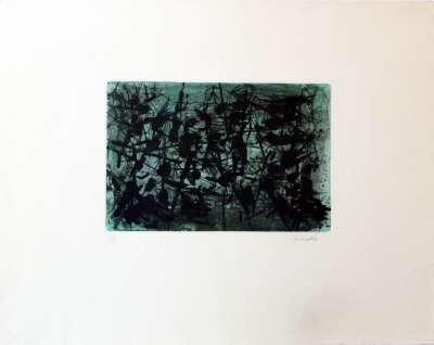 Ombre Verte (Eau-forte) - Jean-Paul RIOPELLE
