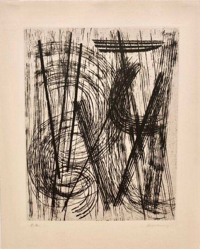 R15 (Gravure) - Hans HARTUNG