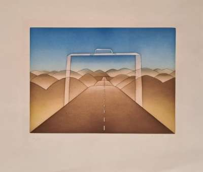 (Engraving) - Jean-Michel FOLON