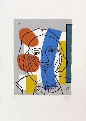 Sans titre (Serigraph) - Fernand LEGER