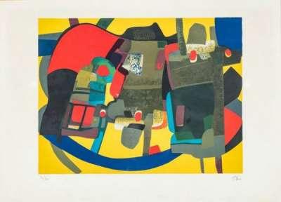Loriquet (Lithographie) - Maurice ESTEVE