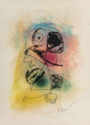 Le souriceau (Radierung und Aquatinta) - Joan  MIRO
