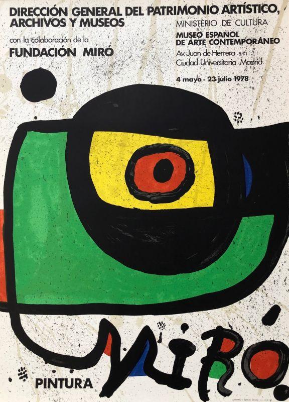 Pintura Miro (Affiche) - Joan  MIRO