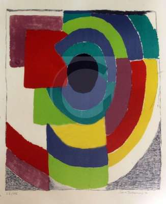 Syncopee (Lithographie) - Sonia DELAUNAY-TERK