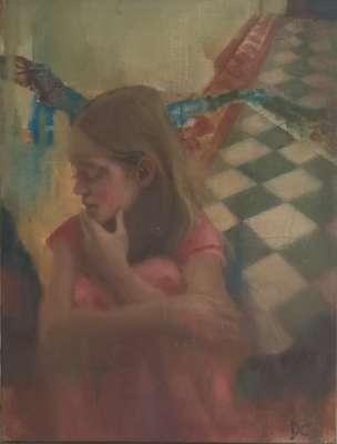 L'autre côté (Öl auf Leinwand) - Dolores  CAPDEVILA