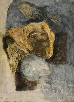 Still life (Huile sur papier (contemporain)) - Véronique NEROU