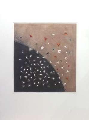 Eclatement Tellurien (Gravure) - Arthur Luiz  PIZA