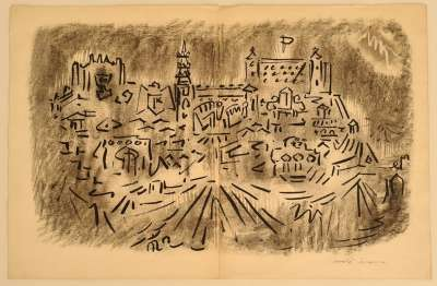For hope (Drawing (modern)) - André  MASSON