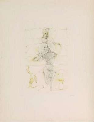 Onze heure et demie (Gravure) - Hans BELLMER