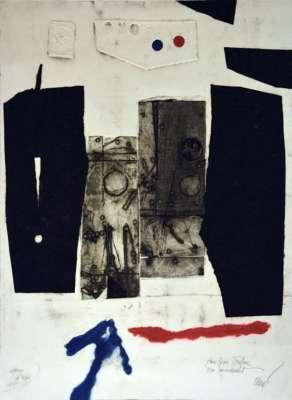 Sans titre (Engraving) - Antoni CLAVE