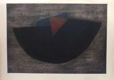 Equilibre rouge (Gravure) - Arthur Luiz  PIZA