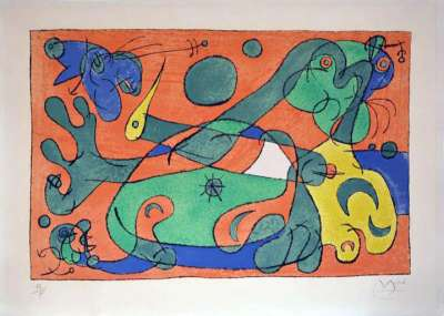 Ubu Roi (Lithograph) - Joan  MIRO