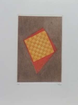 Hommage à Friedlander (Engraving) - Arthur Luiz  PIZA
