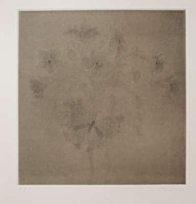 Le voleur de fleurs (Gravure) - Mami  HIRANO