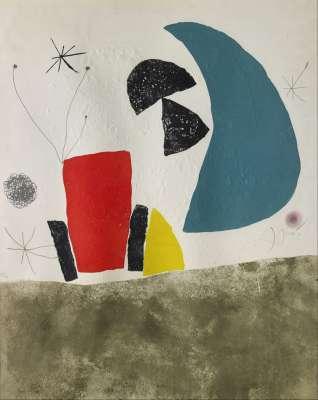 Espriu - Miro (Eau-forte et carborundum) - Joan  MIRO