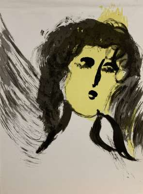 The Angel (Lithograph) - Marc CHAGALL