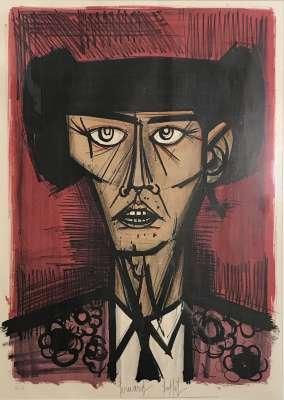 Toreros (Lithographie) - Bernard BUFFET