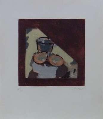 Nature morte oblique (Eau-forte) - Georges BRAQUE