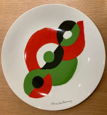 Eclipse (Porcelaine) - Sonia DELAUNAY-TERK