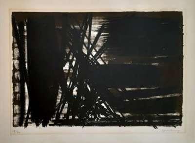 L5 (Lithographie) - Hans HARTUNG