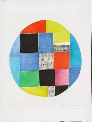 Composition circulaire (Eau-forte et aquatinte) - Sonia DELAUNAY-TERK