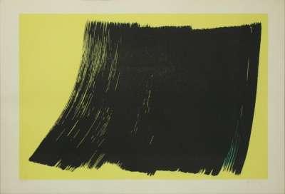 L1970-4 (Lithographie) - Hans HARTUNG