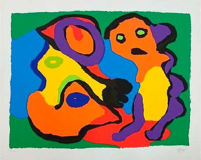 Untitled (Lithograph) - Karel APPEL