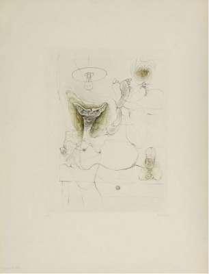 Madame est servie (Gravure) - Hans BELLMER