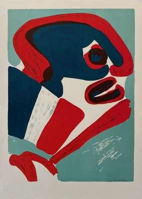 Bengt Lindström, Sans titre (Lithographie) -  Artistes Divers