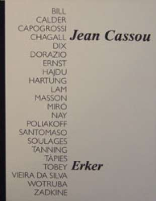 Tribute to Jean Cassou (1971) (Illustrated Book) -  Artistes Divers