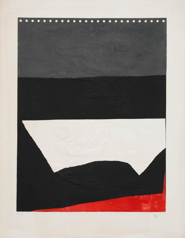 Gris Noir (Aquatinte et carborundum) - Antoni CLAVE