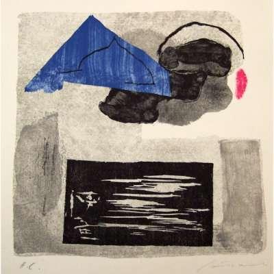 Aras II (Lithographie) - Giuseppe  SANTOMASO