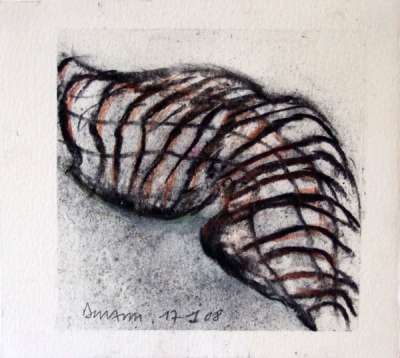 Maillages (Charcoal) - Jean-Jacques  DOURNON