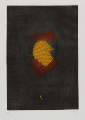 Rouge jaune bleu (Eau-forte et aquatinte) - Arthur Luiz  PIZA