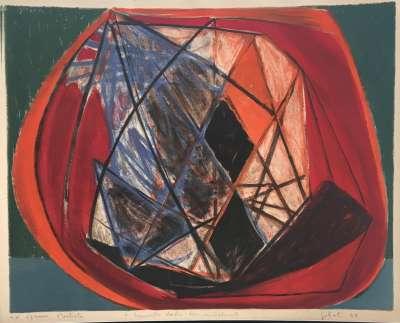 Composition (Lithographie) - Emile GILIOLI