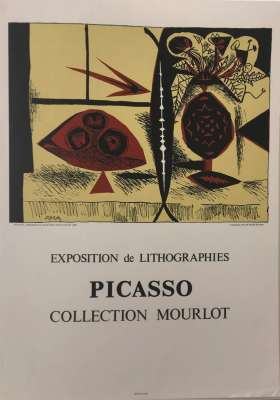 Exposition de Lithographies Picasso (Poster) - Pablo  PICASSO