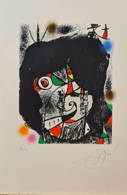 Les révolutions scéniques du XXe siècle (Lithographie) - Joan  MIRO