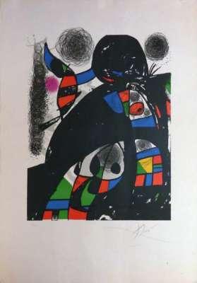 San Lazarro - Fondation (Lithographie) - Joan  MIRO