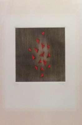 Eclat du rouge (Gravure) - Arthur Luiz  PIZA